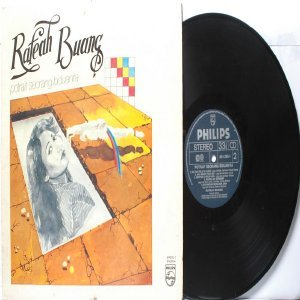 Malay  Pop Diva RAFEAH BUANG Potrait Seorang Biduanita LP Phillips 814205 1983