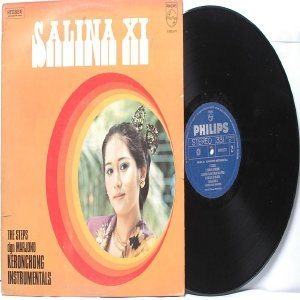 Malay  Indon 70s Pop  Band THE STEPS Salina IX  LP Phillips 6305077