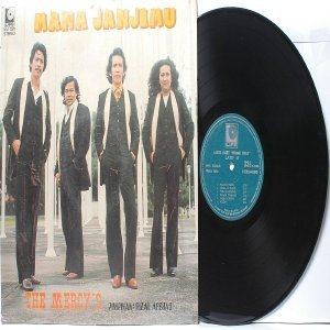 Malay  Indon 70s Pop  Band THE MERCY''S Mana Janji Mu LP LIFE HM 1287