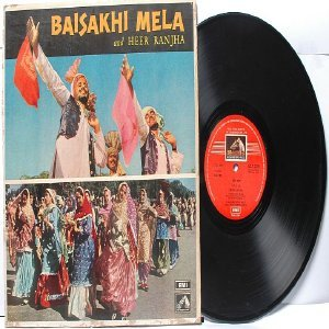 BOLLYWOOD INDIAN  Baisakhi Mela & Heer Ranjha EMI Odeon INDIA LP
