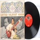 CLASSICAL INDIAN  Ustad Vilayat Khan EMI HMV Red Label  INDIA LP