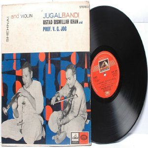CLASSICAL INDIAN  Ustad Bismillah Khan EMI HMV Red Label  INDIA LP