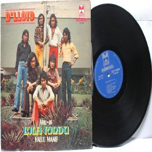 Malay  Indon 70s Pop  Band D'LLOYD Bila Rindu LP