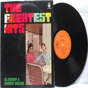 Malay  70s Pop  M. SHARIFF & AHMADI HASSAN Greatest Hits LP