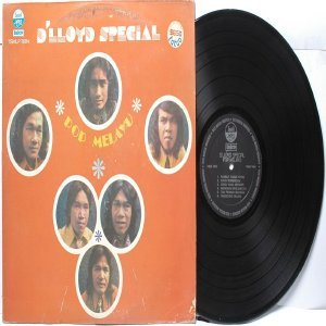Malay  Indon 70s Pop  Band D'LLOYD SPECIAL Pop Melayu LP Vinyl