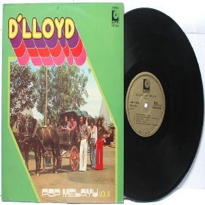 Malay  Indon 70s Pop  Band D'LLOYD Pop Melayu Vol. #4 LP  LIFE HM 1144