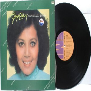 Malay  80s Pop  Singer GAYA ZAKRY Biarkan Aku Bahgia EMI LP 1981