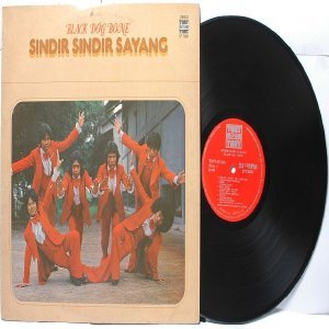 Malay  80s Pop  Band BLACK DOG BONE Sindir Sayang   LP  1977