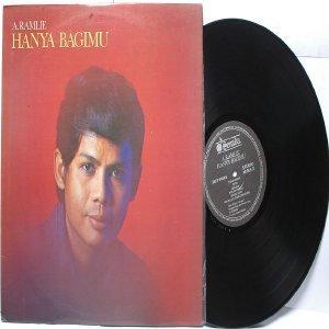 Malay  70s Pop  Singer A. RAMLIE Hanya Bagimu LP Senada