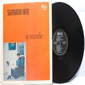 Malay  70s Pop  Singer A. RAMLIE Suasana Hati LP Senada