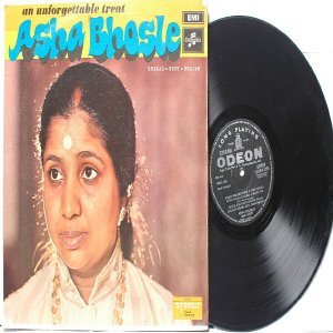 BOLLYWOOD LEGEND Asha Bhosle UNFORGETTABLE  EMI Odeon LP 1971