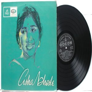 BOLLYWOOD LEGEND Asha Bhosle SELF TITLED EMI Odeon LP 1965