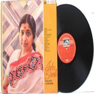 BOLLYWOOD LEGEND Asha Bhosle 16 HEROINES EMI India HMV LP