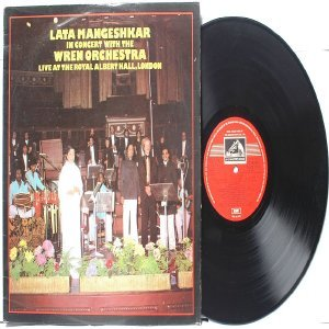 BOLLYWOOD LEGEND Lata Mangeshkar  & Wren Orchestra  ALBERT HALL EMI India  HMV LP 1979