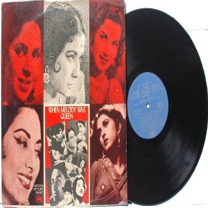 BOLLYWOOD LEGEND Lata Mangeshkar  WHEN MELODY WAS QUEEN EMI Regal LP