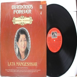 BOLLYWOOD LEGEND lata Mangeshkar DIAMONDS FOREVER  EMI India HMV LP