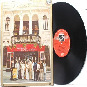 BOLLYWOOD LEGEND Lata Mangeshkar LIVE AT LONDON PALLADIUM  EMI India HMV LP 1980