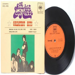 "THE EVERLASTING LOVE AFFAIR Greatest Hits CBS   MALAYSIA 7"" PS EP"