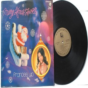 70s CHINESE DIVA SINGER Francis Yip CHRISTMAS ALBUM  LP LSP 9065