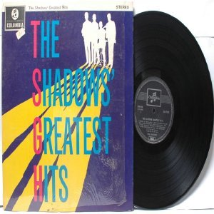THE SHADOWS Greatest Hits EMI Columbia MALAYSIA S.E.A LP 1962