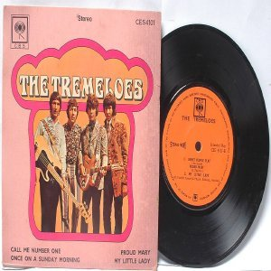 "THE TREMELOES Call Me Number One 7"" 45 RPM PS EP"