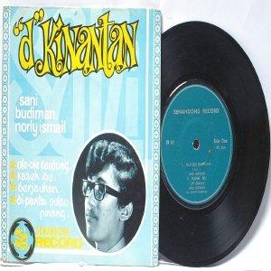 "MALAY  INDON 60s 70s POP Sani Budiman NORLY iSMAIL d'KIINANTAN  7"" PS EP"