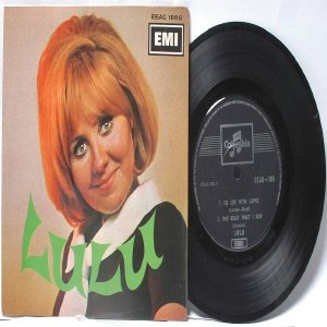 "LULU To Sir With Love SINGAPORE Asia EMI  7"" PS EP 45 RPM EEAC 1006"