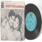"BOLLYWOOD INDIAN  Doctoramma SHANKAR-GANESH 7"" EMI Columbia  PS EP 1974 SEDE 11027"