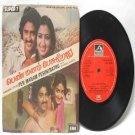 """BOLLYWOOD INDIAN  Pen Manam Pesukirathu SHANKAR-GANESH  7"""" EMI HMV  EP 1982 7LPE 21586"""