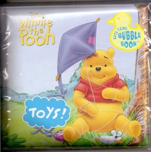 WINNIE THE POOH Baby Bath Time Bubble Book Vinyl