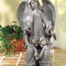 Angel with Two Kids Statue (38006)