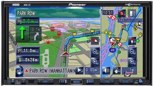Pioneer Avic-2 Navigation System