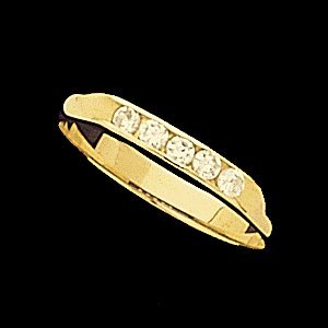 10883 ANNIVERSARY BAND  14K Yellow  02.00 MM Polished