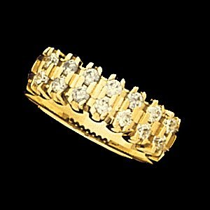 SH102 ETERNITY BAND  14K Yellow  .27-.72 CT TW  Polished