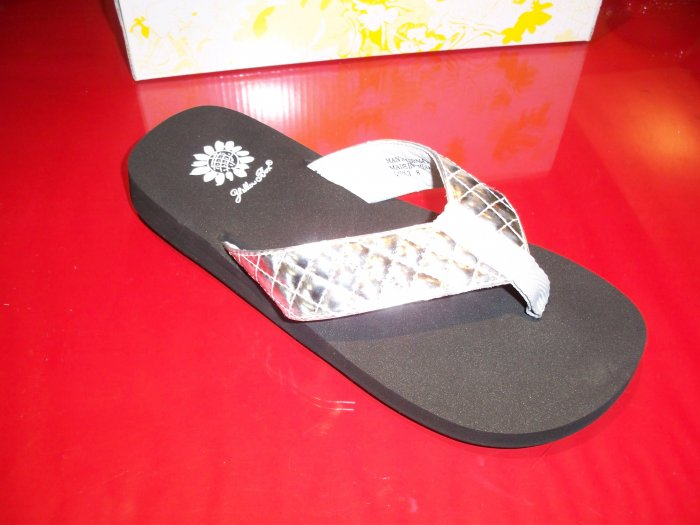 Quilt Sandal from Yellow Box - Size 8 1/2