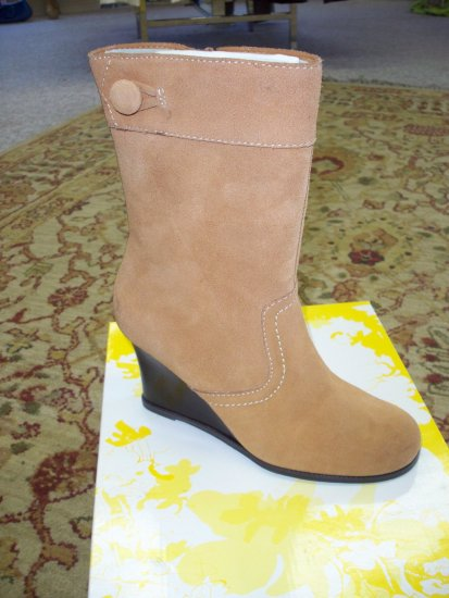 Dime Cognac Boot from Yellow Box - Size 8