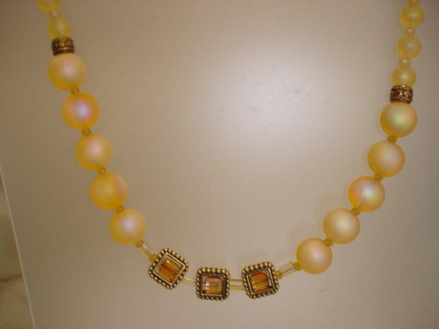 Swarovski Crystal/Vintage Necklace