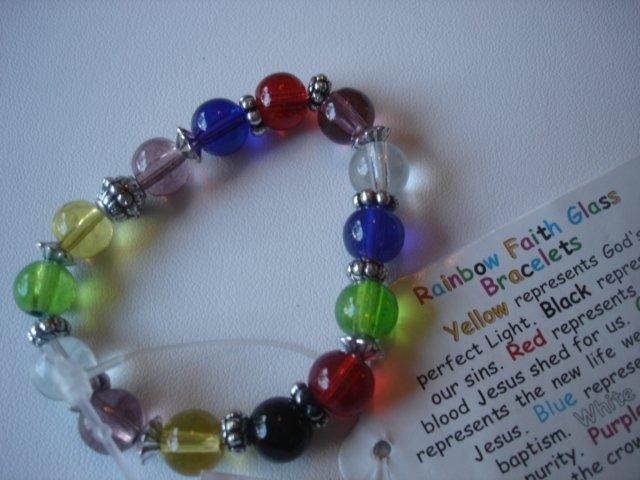 Rainbow Faith Bracelet