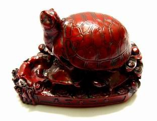 Money Tortoise with Ingots