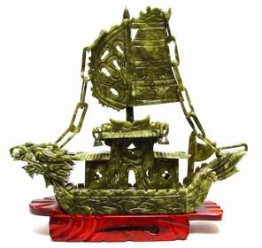 Jade Dragon Boat For Business