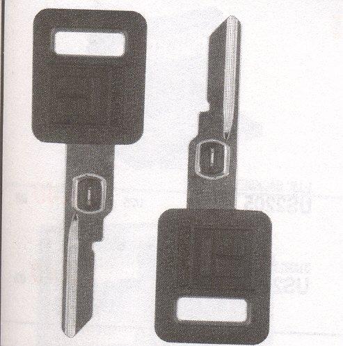 G.M Single Sided Vats key blank GMB-62P