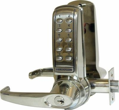 Codelock CL 4210 lever pushbutton lock set