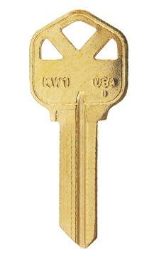 Kwikset 5 pin key blank kw1-50