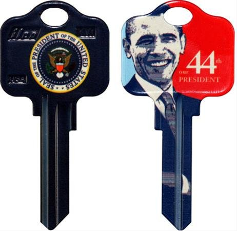 Barack Obama house key SC1 keyway