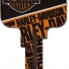 Ilco Harley davidson logo house key IL-SC1-HARLEY