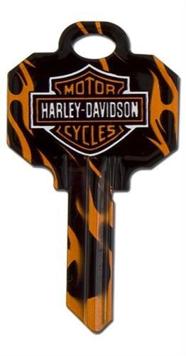Ilco Harley davidson logo house key IL-SC1-HARLEY-FLAME