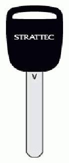 """2005-2008 Honda """"V"""" transponder key blank 5907553"""