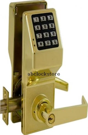 Alarm lock DL2700 electronic push button lock with weatherproof (AL-DL2700WP-US3)