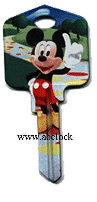 Disney new Mickey mouse KW1 house key D37-KW1