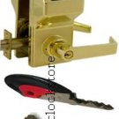 Alarm lock trilogy DL2700 electronic lock with high security key override AL-DL2700S-US3